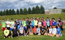 The Mystic cross-country teams. © Take The Magic Step®