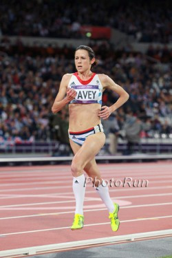 Jo Pavey, seen here at the Olympic Games 2012, triumphed in Switzerland. ©www.PhotoRun.net