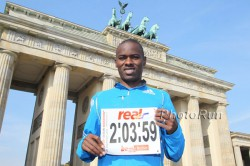 Patrick had wanted to break the world record at the 2010 Berlin Marathon. © www.photorun.net