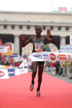 Henry Sugut will run Vienna again, following his course record in 2012. © www.PhotoRun.net