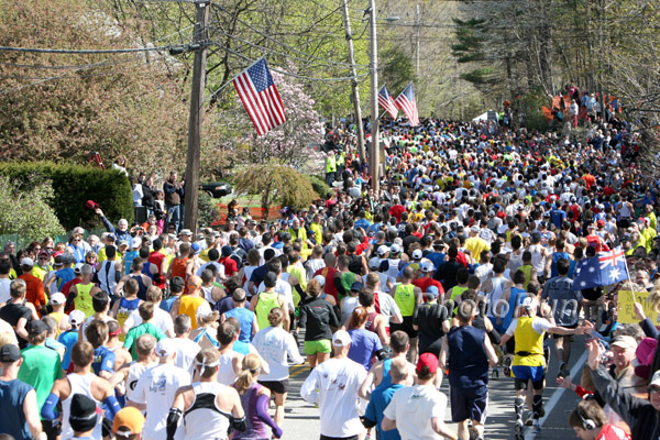 A Hilly Topic: The Boston Marathon Course