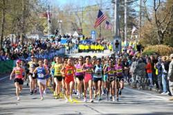 The start of the elite women s Boston race in 2010. © www.photorun. 2137bdef20d2