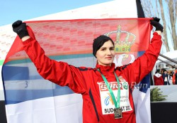 Amela Terzic, seen here at the 2012 European Cross-Country Championships, retained her title. © www.PhotoRun.net