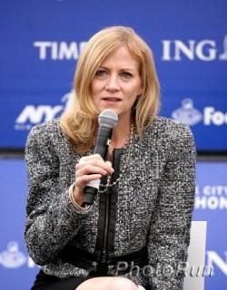 Mary Wittenberg, race director of the New York City Marathon. ©www.PhotoRun.net