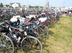 One of many bike parking lots. © private