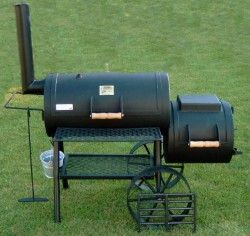 A charcoal grill is best for delicious, outdoor-eating with family and friends. © private