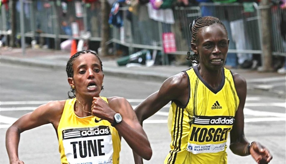 Merga and Kosgei Crowned in Laurels at the 113th Boston Marathon