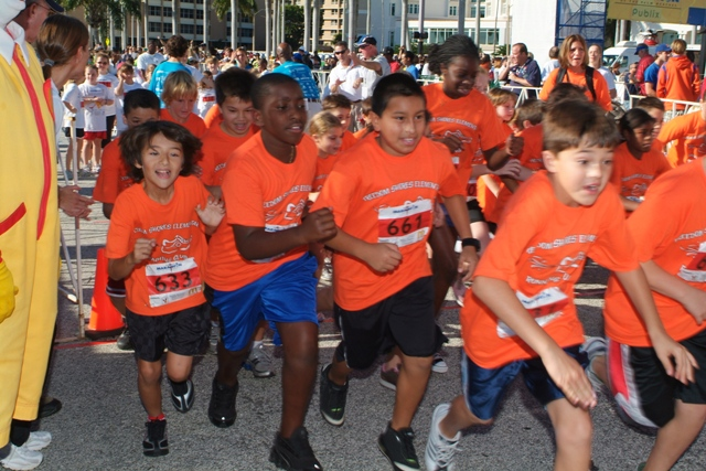 A Unique Florida Marathon—For Kids!