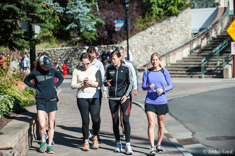 """Uta during her """"Running To Freedom—Getting Started"""" session in Vail, September 2012. © Jordan Loyd"""